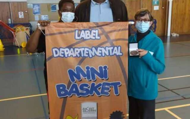 LABEL MINI BASKET